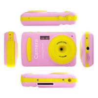 ingrosso miglior video digitale-Mini fotocamera digitale Digital Camer 16MP multi color camera Mini videocamera a 2,4 pollici Miglior regalo per bambino