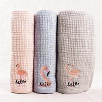Wholesale towel hair kids resale online - Flamingo cartoon towel kids Face Towel bathing towels home outdoor portable travel Sports absorbent towels FFA1595