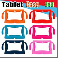 android tablet pc cases 2021 - 848 Kids Soft Silicone Rubber Gel Case Cover For Q88 A13 A23 A33 Q8 Android Tablet PC