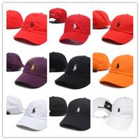 chapéu do pop de k venda por atacado-Atacado Gorras K-pop Osso Chapéu Polo Boné de Beisebol Ajustável Hip Hop Snapback Tampas de Sol Para Mulheres Dos Homens ajustável