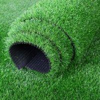 ingrosso tappeti erbosi artificiali-piante artificiali erbe ausse plante grasse stuoia piante vegetazione esterno tappeto di erba verde decorazione herbe artificielle H0027