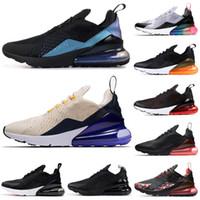 3fbc2c5fd5 frauen krieger schuhe großhandel-Nike Air Max 270 270s Shoes Herren  Laufschuhe Throwback Future Coral
