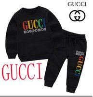 Wholesale free size girl clothes for sale - Group buy HOT Brand CUCCI Style Children s Clothing For And Girls Sports Infant Short Sleeve Clothes Kids Set size T T
