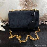 ingrosso chiusura lampo metallo-2019 Ultimi prodotti di alta qualità Classici Saint SUNSET borsa in pelle originale in pelle di alta qualità di lusso borse in metallo oro genuino Le