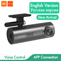 Wholesale motion detection wifi camera resale online - Hot Xiaomi mai Dash Cam S Car DVR Wifi English Voice Control Dashcam P HD Night Vision Car Camera Video Recorder G sensor