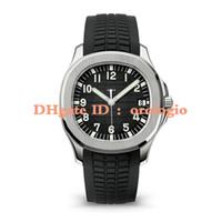 oval relógios homens venda por atacado-2019 relógios de pulso de luxo Aquanaut movimento Automático de aço inoxidável cinta de borracha confortável fecho original Super luminosa homens relógios