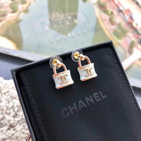 Wholesale fashion bijoux online - style Stud Earrings Simulated Pearls Crystal Infinity Bow Cat Bijoux Fashion Jewelry Brincos Earing pendientes mujer