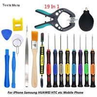 Wholesale slot phone kit for sale – best Multi function Pentalobe Slotted Torx T6 Y2 Precision Screwdriver Set Opening Pry Tool Kit for iPhone PC Phone Repair