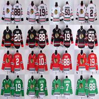 Wholesale kane red jerseys for sale - Group buy Chicago Blackhawks Jonathan Toews Patrick Kane Corey Crawford Brandon Saad Duncan Keith Seabrook hockey jerseys