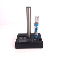 medidor de caixa de bateria venda por atacado-510 Vape Pen Atomizador Resistência Faixa de Medição 0.01-19.9ohm Dual Tester 1.01-11.9 V Ecig Bateria Voltage Meter Box Mod