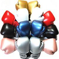engrenagens das artes marciais venda por atacado-2-8 Luvas Anos Crianças de boxe para Fun Muay Thai luta Sanda Martial Arts saco de perfuração treinamento Mitts engrenagem 2019 DEO