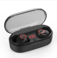 ingrosso auricolari pesanti-J29 Mini TWS Auricolare Bluetooth senza fili 5.0 IPX5 Impermeabile Heavy Bass Auricolari Cuffie con scatola di ricarica per Iphone Android 12 pz DHL