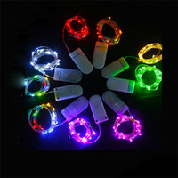 Wholesale diy led net lights for sale - Group buy 1M M M M Copper Wire LED String lights Holiday lighting Fairy Garland For Christmas Tree Wedding Party Decoration CRESTESH