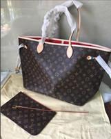 Wholesale glitter canvas tote bags for sale - Group buy 2019 Brand en and women large capacity luggage bag baggage real waterproof handbag shoulder Totes Bags M436117