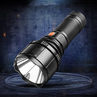 xenon-taschenlampen großhandel-Blendung wiederaufladbare taschenlampe xenon lampe langlebige outdoor wasserdichte beleuchtung taschenlampe nachtreiten camping jagd taschenlampe LJJZ150
