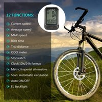 Wholesale multi function lcd speedometer computer for sale - Group buy Lixada Wireless Bike Computer Multi Functions Bicycle Cycling Computer Speedometer Odometer with LCD Screen Backlight