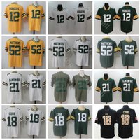 07ca57a46 Wholesale aaron rodgers for sale - Group buy Green Bay Packers Football Aaron  Rodgers Jersey Men