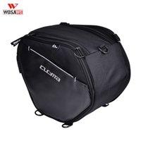 обвязка багажного мешка оптовых-WOSAWE Мотоциклы Передние сумки для хранения 20-35L Мотоцикл Racing Travel Сумки для багажа с наплечным ремнем Скутер Туннельная сумка