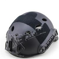 cascos de venta al por mayor-Wosport FAST Casco táctico Engrosamiento CS Campo Combinación Sport Ware Multifunción Sólido Seguridad ABS Plástico Venta caliente 120wsI1