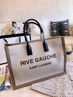 Wholesale atmosphere fashion handbags for sale - Group buy 2019 New women designer bags handbag fashion atmosphere top quality Canvas shopping too