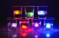 led mat aydınlatma toptan satış-Sıcak LED Gadget LED Coaster Yanıp Ampul Ampul Mat Mat Kulübü Bar Ev Partisi Tatil Için Renkli Işık