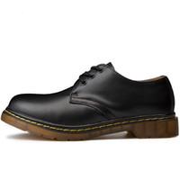 bottes de sécurité achat en gros de-Bottes homme grande taille 35-46 Nouvelle bottes en cuir décontractées Bottes de sécurité pour hommes Chaussures en cuir véritable