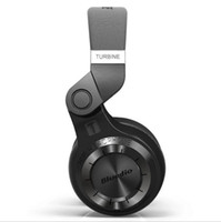 auriculares 3d al por mayor-Bluedio original T2 Bluetooth auriculares inalámbricos plegables Micrófono incorporado Auriculares con sonido 3D para teléfono celular xiaomi Samsung coche