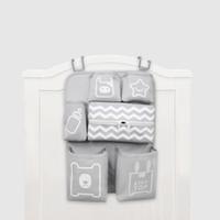 Wholesale pink diapers resale online - Baby Crib Organizer Newborn Diaper Stacker Stroller Bag Bottle Holder Storage Infant Baby Items Bedding Set Accessories