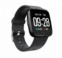 Wholesale android phone color red for sale – best Y7P Heart rate Smart Sport Bracelet waterproof Bluetooth inches Color display Monitor Fitness Touch type for Android IOS Phone