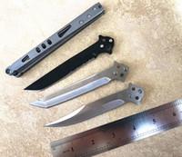 faca dobrável leve venda por atacado-Diy montar todo bm42 estilo borboleta velocidade da luz facas dobráveis pedra alça de lavagem mercerizing lâmina bowie tanto