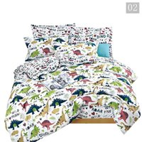 Wholesale boys twin size bedding sets for sale - Group buy Cartoon Luxury Bedding Sets For Children Single Size For Gilr Boys Duvet Cover Kids Baby Bed Linen Set Child Bedclothes Dinosaur