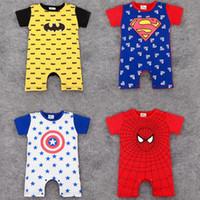 Wholesale boutique rompers for sale - Group buy Newborn Baby Boy Rompers Vetements Pour Enfants Kids Designer Clothes Girls boys Infant cotton Jumpsuits Toddler Boutique BB051D