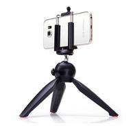 mobil için üniversal tripod ayaklığı toptan satış-Evrensel Cep Telefonu Kamera Tutucu Özçekim Sopa Standı Dağı Klip Cep Telefonları Için YT-228 Mini Tripod ile Dijital Kamera Paketi