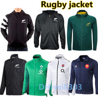 Wholesale hoodie super for sale - Group buy 19 Black Hoodie New Zealand Super Rugby jacket Sweater South Africa ireland Franch BOLN Rugby jackets sweatshirt best quality