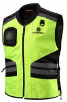 Wholesale reflective motorcycle vest for sale - Group buy 2018 New SCOYCO Motorcycle riding reflective Vest jacket kinght locomotive motorbike safety vest four seasons JK32