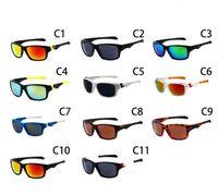 radfahren sonnenbrille spiegel großhandel-Schnelles freies Sportbrille Fahrrad Glas 11 Farben arbeiten Große Sonnenbrille Radsports Sonnenbrille Mode Dazzle Farbe Spiegel