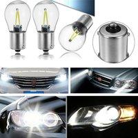 ingrosso filamento della lampada-P21W LED ba15s 1156 led chip di filamento auto luce S25 auto veicolo reverse lampadina del segnale di svolta DRL bianco 12 v 24 v
