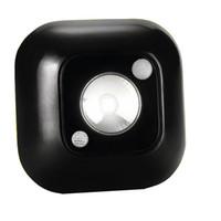 luzes led magnéticas infravermelhas venda por atacado-LED Sensor Night Light dupla indução PIR Movimento Infrared Lamp Sensor magnético infravermelho Lâmpada de parede Gabinete Escadas Luz