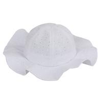 chapeau d'été à bords blancs achat en gros de-Enfant en bas âge Enfants Chapeau d'été - Large vague - Bordure soleil - Plage - Casquette décontractée (Blanc)