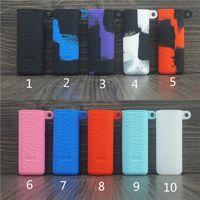 hautstifte großhandel-Novo Silikonhüllen Silikon Skin Cover Gummihülse Schutzabdeckungen für SMOK Novo Vape Stiftkassette-Patronen-Kit Batterie Mod 10 Farben