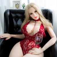 masturbação sexo bonecas para mulheres venda por atacado-158 cm Boneca sexual de silicone bonito mulher grande peito grande bunda real da vagina bonecas sexuais corpo macio sexo para homem masturbação