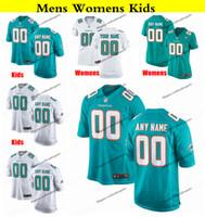 Wholesale alonso football jersey for sale - Group buy Customize Miami Mens Womens Kids Dolphins Christian Wilkins Amendola Tannehill Drake Alonso Gore Josh Rosen Football Jerseys