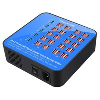 Wholesale uk outlet adapter for sale - Group buy Intelligent Ports Fast Charger USB Hub Charging Station Power Outlet Multi Port Speed Wall Charger Dock Charger Adapter
