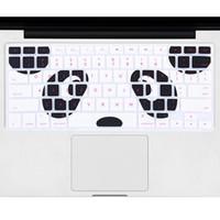 macbook pro decalques venda por atacado-Novo Silicone Animal Dos Desenhos Animados Decalque Protetor Capa Do Teclado Para Macbook Air Pro 13 15 Capa Protetor