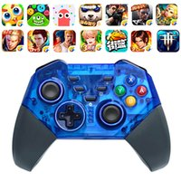 Wholesale gaming console for pc resale online - Wireless Bluetooth Gamepad Pro Controller for Switch Console Gaming Joystick for PC