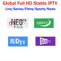 iptv usb tv toptan satış-Avrupa IPTV Abonelik NEOTV QHDTV IUDTV SUBTV 4500 + Lives Italia Fransız Almanya Arapça İsveç Belçika Destek Android akıllı tv kutusu M3U MAG