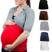 брючные полоски оптовых-Беременные По беременности и родам 6 Цветов Женщины Беременности Поддержка Живота Полосы Поддерживает Корсет Пренатальный Уход Корректирующее Белье OOA6371