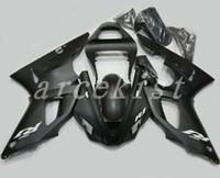 yamaha yzf r1 carenados personalizados al por mayor-3Gifts Nuevo kit de carenados de motocicleta ABS aptos para YAMAHA YZF R1 2000 2001 carenado YZFR1 00 01 YZF1000 YZF-R1 carrocería mate personalizada