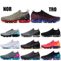 376f0d0f0a08 2019 Knit BHM 1.0 2.0 Fly Running Shoes Men Women Rainbow White Vast Grey  Dusty Cactus Top Designer Shoes Sport Sneakers