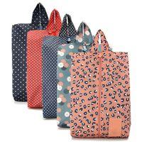 Wholesale Portable Travel Shoe Storage Bag Waterproof Oxford Organizer Folding Pouch Case X303